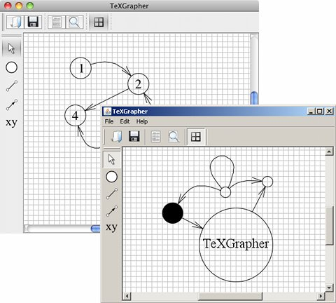Texgrapher a latex graph drawing application ccuart Image collections